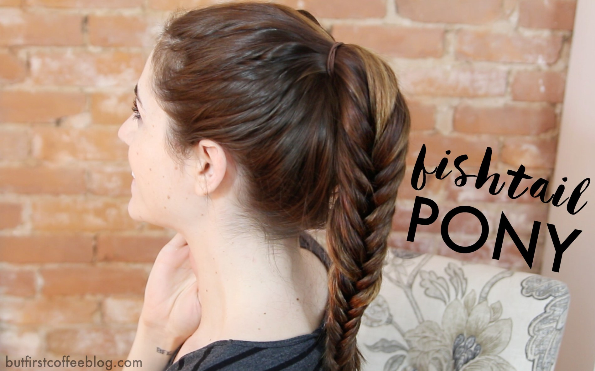 Different Ponytail Ideas - fishtail Ponytail