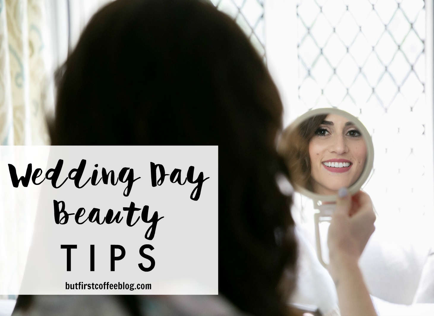 wedding day beauty tips - Real bride: brides share their wedding day beauty tips