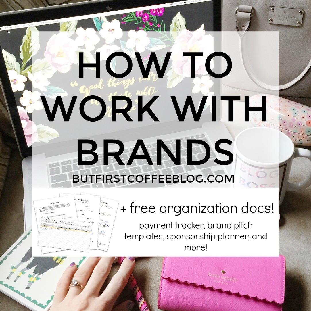 5 Tips For Working with Brands