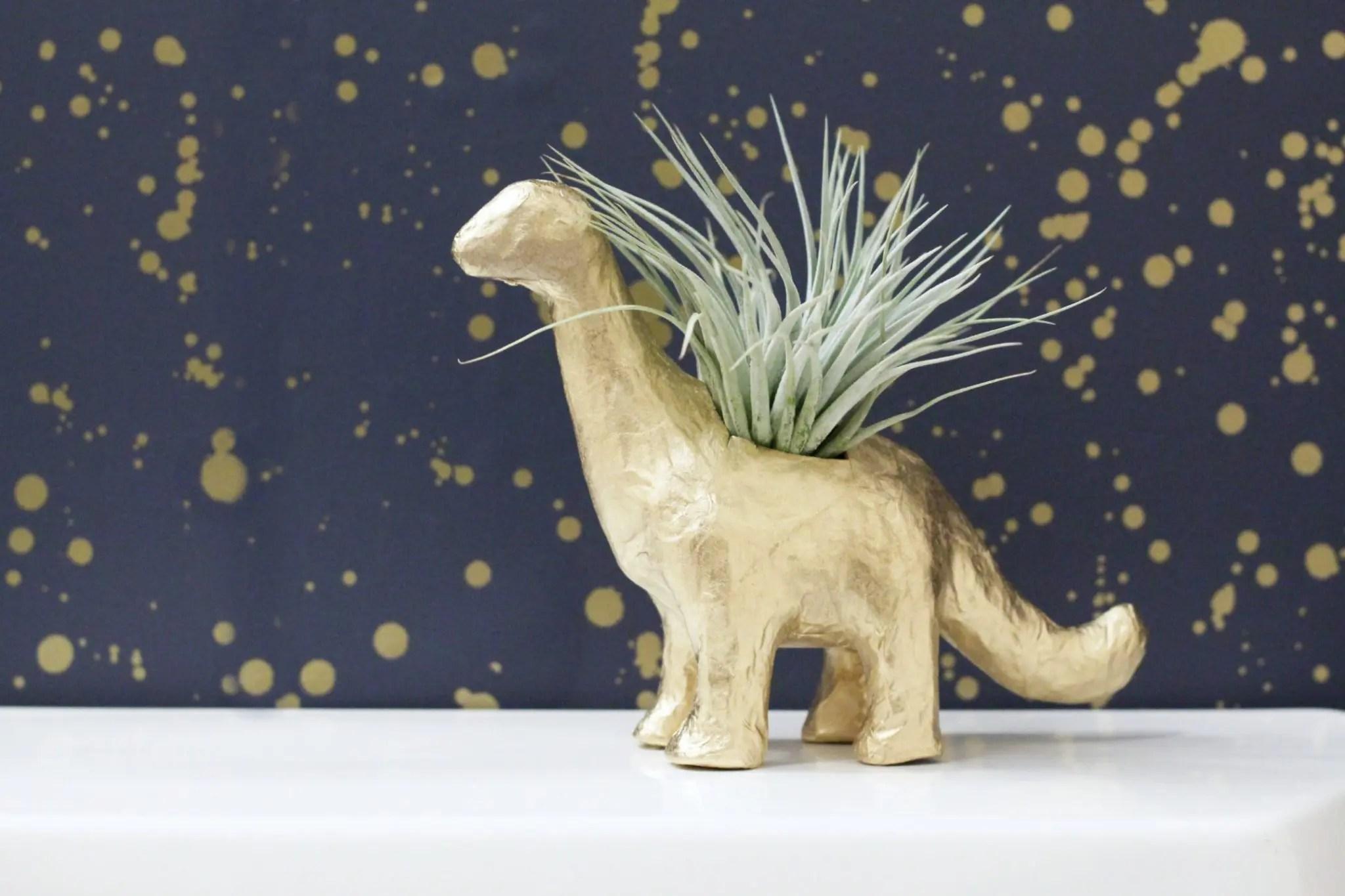 How to Make a DIY Dinosaur Plante