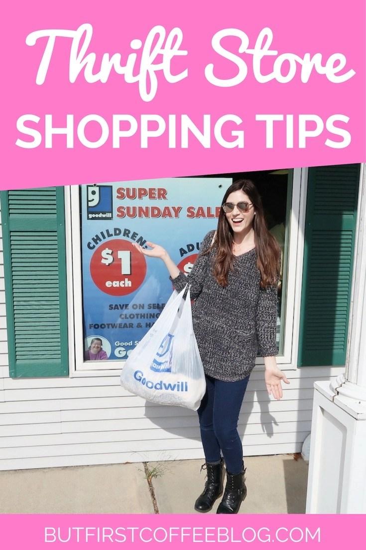 Thrift store shopping hacks