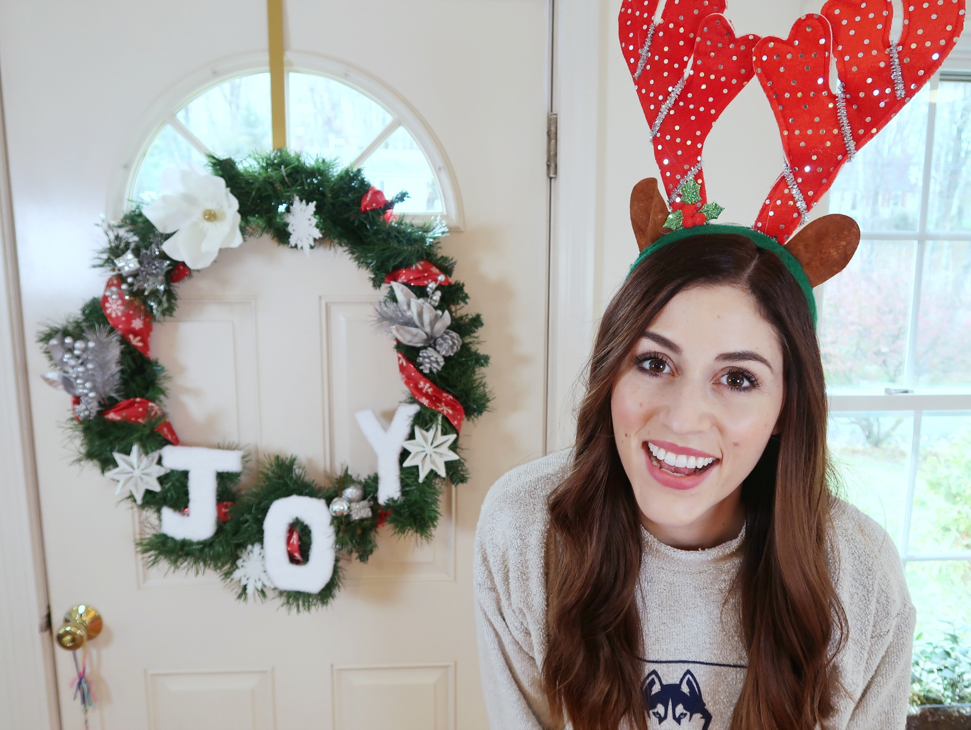 How to Make a Christmas Wreath from the Dollar Tree | Dollar Store DIY