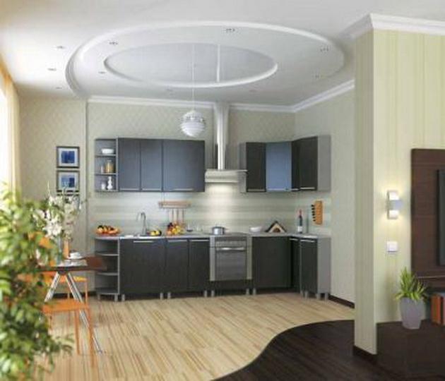 дизайн кухни 9 кв м с диваном 1