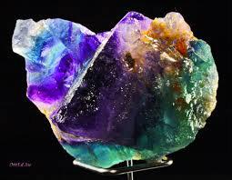 Fluorit - vackra färger