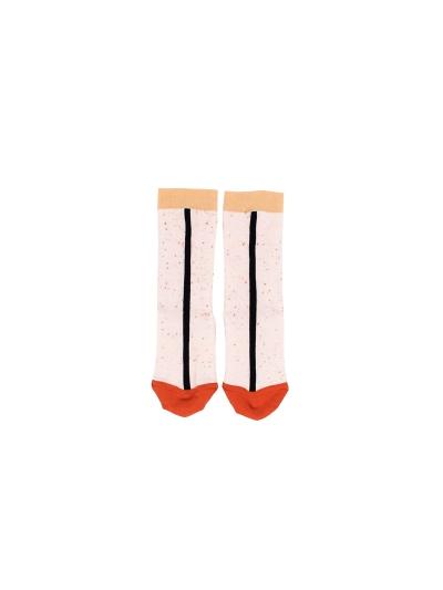 line-melange-socks