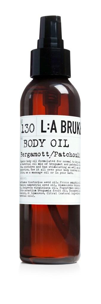 La bruket bodyoil bergamott patchouli