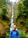 Bottom of Multnomah Falls