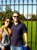 ::white house, obligatory around the world photo::