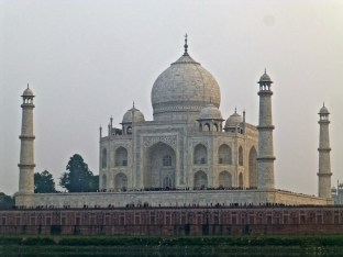 ::Taj from across the river::