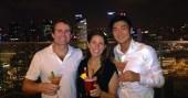 ::singapore slings at marina bay sands::