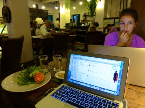 ::eating, blogging::