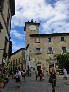 ::main piazza of Orvieto::