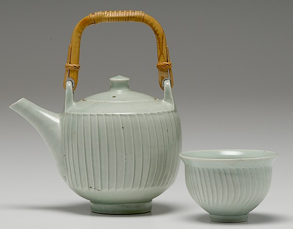 leach tea set