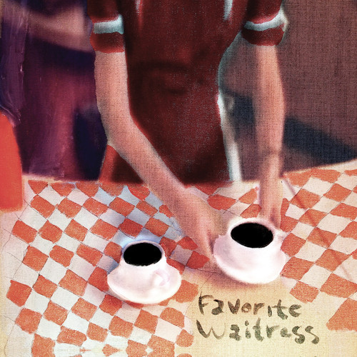Pictured above is the album cover of 'Favorite Waitress' by The Felice Brothers, released in 2014 on Butler Records