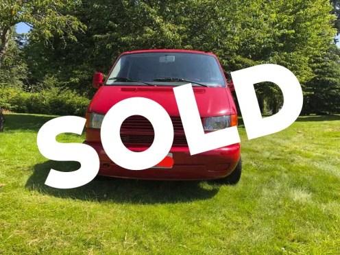 Eurovan-sold