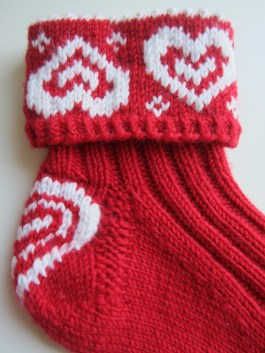 Valentinesox knitted DK colourwork fairisle stranded colourwork