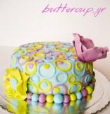 mod 70's flower cake-1wtr