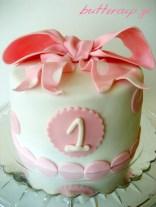 pink bow cake-2wtr