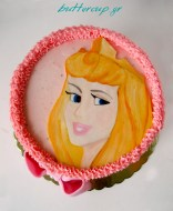 Princess Aurora (sleeping beauty) Cake