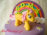 rainbow pony cake-8wtr