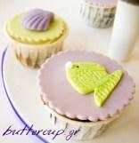 sea theme cupcakes wtr