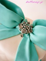 tiffany blue quilted cake-3wtr
