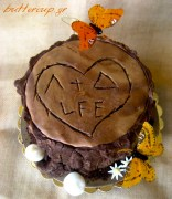 tree stump cake-5wtr