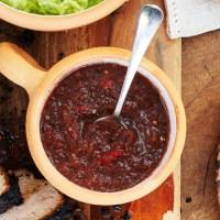 Техасское барбекю с красной сальсой