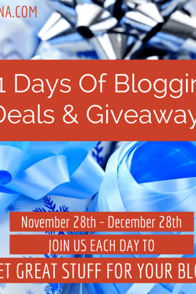 31 Days of Giveaways-Day 15