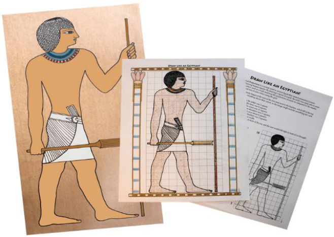 Home School in the WoodsDrawLikeAnEgyptian