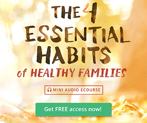 The 4 Essential Habits of Healthy Families Mini Audio Course