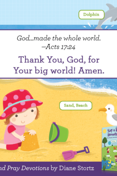 Say & Pray Devotions {Book Review}