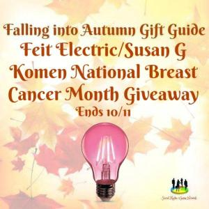 Feit Electric Susan G Komen National Breast Cancer Month