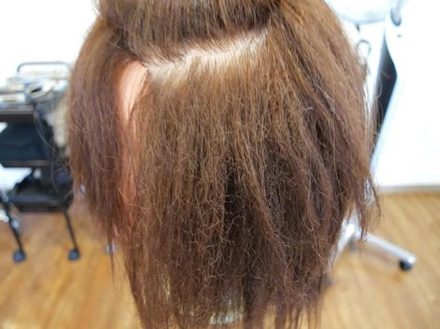 チリチリ毛