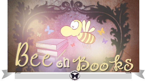 bee-on-books-sticker