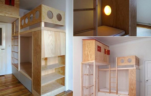 das hochbett butterflyfish. Black Bedroom Furniture Sets. Home Design Ideas