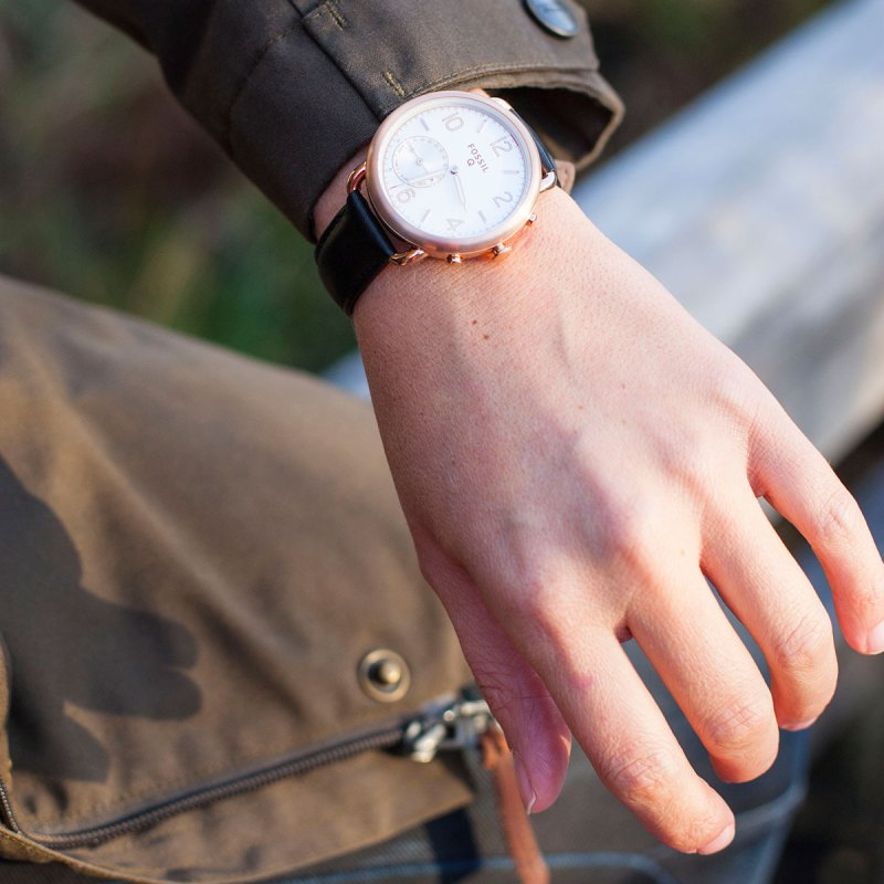 fossilq tailor smartwatch