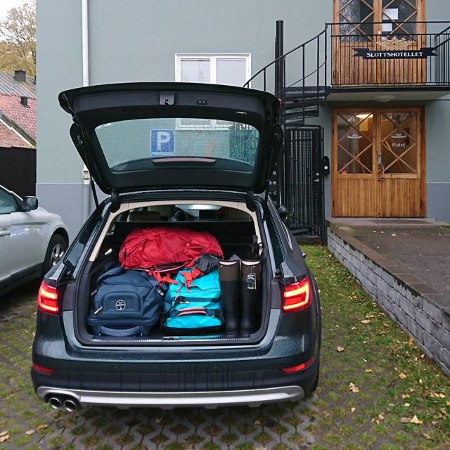 schweden mit kindern autofahren
