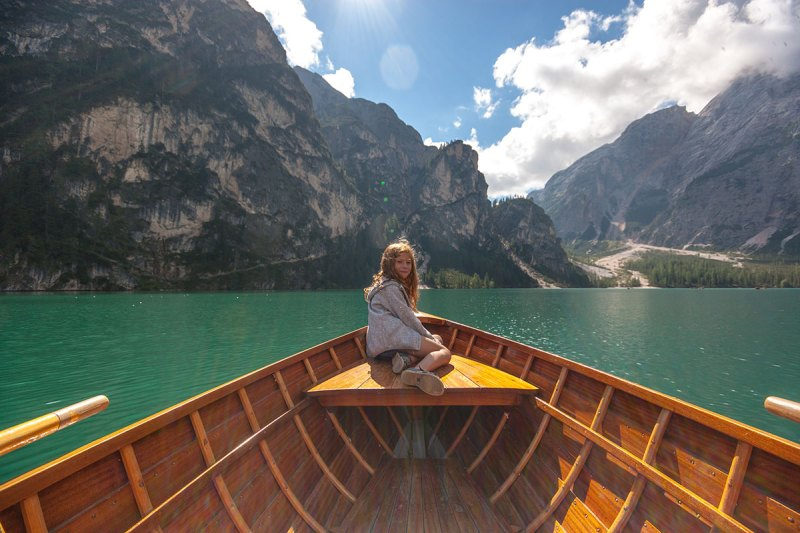 familienurlaub in Südtirol Pragser Wildsee