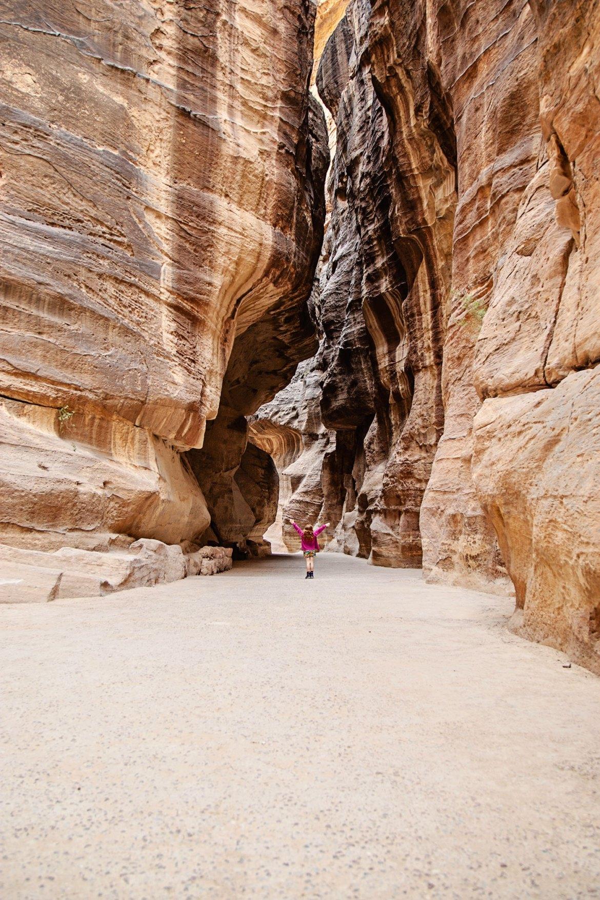 mit kindern nach jordanien reisen petra