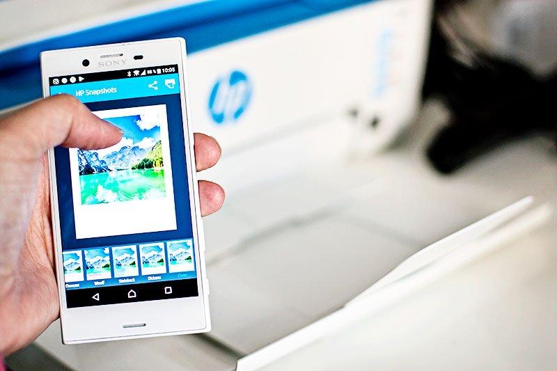 HP Deskjet - Fotoständer DIY