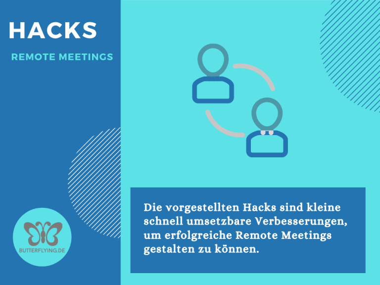 Read more about the article Hacks für erfolgreiche Remote Meetings