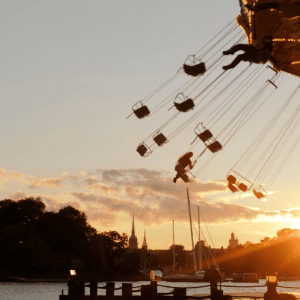 People on an amusement ride-Learning to Release our Children