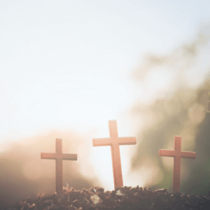 3 Crosses-He Loves Us