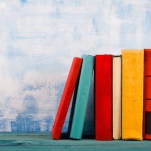 Stacked books-christian parenting books