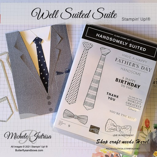 Well Suited Suite Collection By Stampin' Up!