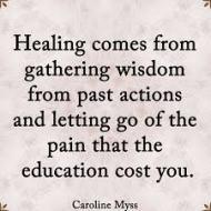 Healing is wisdom