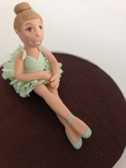 A more thoughtful picture of my ballerina.