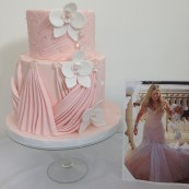 My finished cake and picture