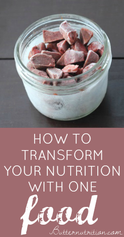 How To TRANSFORM Your Nutrition With One Food | Butter Nutrition